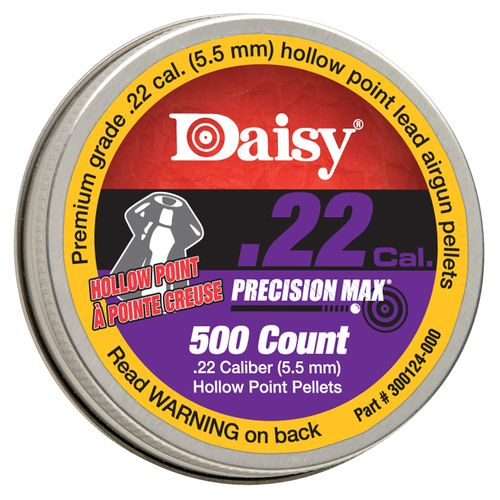 Daisy® 7785 Premium .22 (5.5mm) Caliber Hollow Point Air Gun Pellets