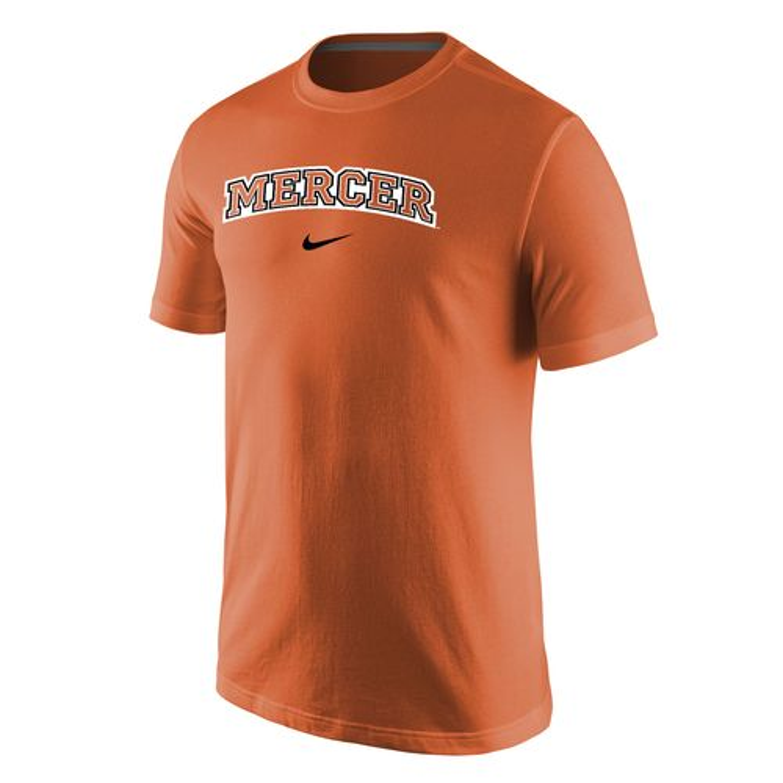 Nike Men's Mercer University Logo T-shirt