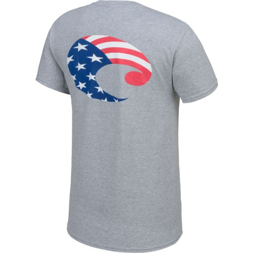 Costa Del Mar Men's Flag Short Sleeve T-shirt
