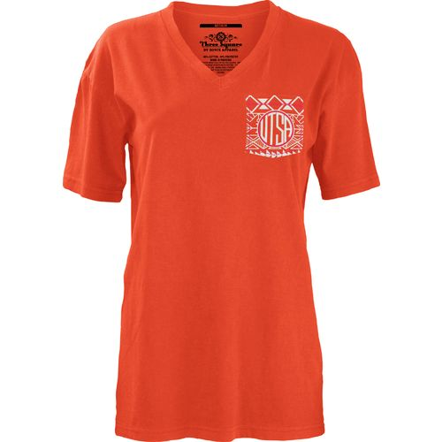 Three Squared Juniors' University of Texas at San Antonio Moonface Vee T-shirt - view number 2