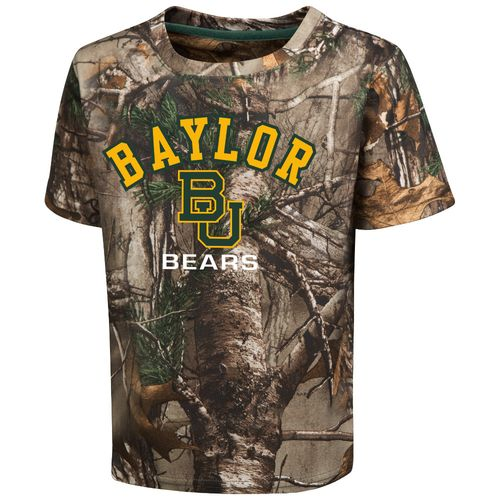 Colosseum Athletics™ Toddler Boys' Baylor University Blacktail Camo T-shirt
