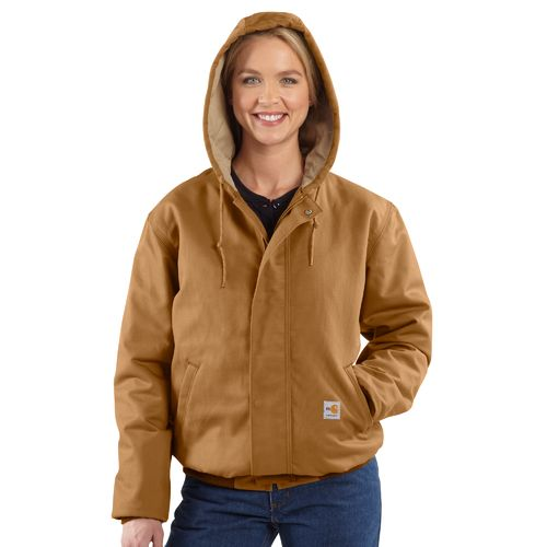 Carhartt Women's Flame Resistant Midweight Canvas Active Jacket - view number 5