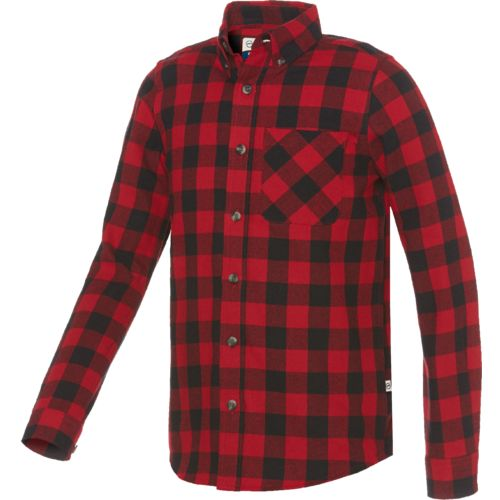 Magellan Outdoors™ Boys' Canyon Creek Plaid Flannel Shirt