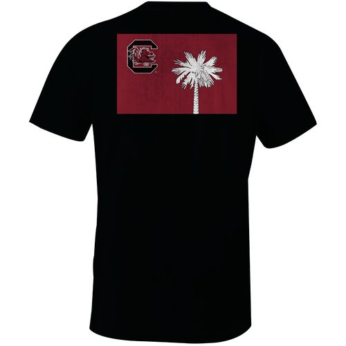 Image One Men's University of South Carolina State Flag Comfort Color T-shirt