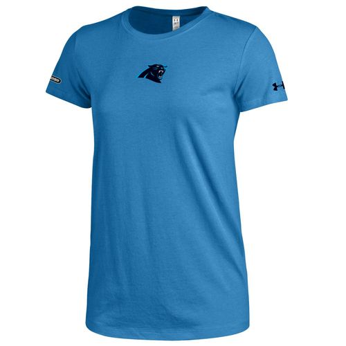 Under Armour™ NFL Combine Authentic Women's Carolina Panthers Primary Logo T-shirt