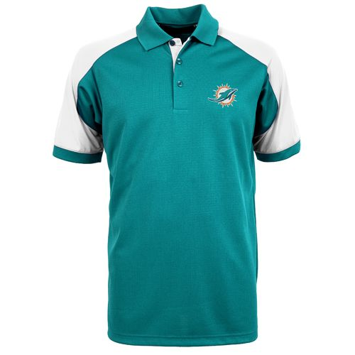 Antigua Men's Miami Dolphins Century Polo Shirt