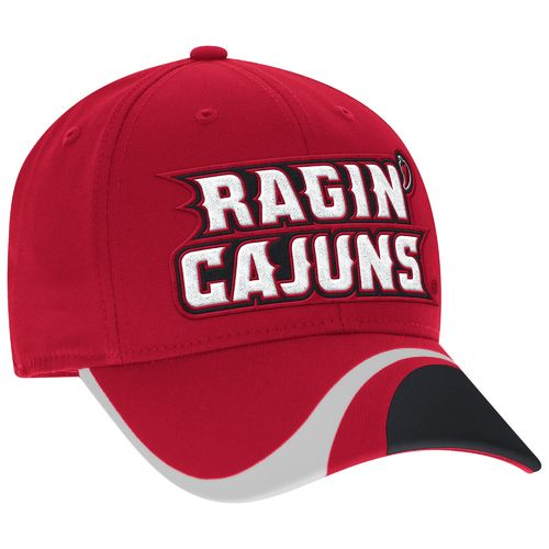 adidas™ Men's University of Louisiana at Lafayette Cut-N-Sew Structured Flex Cap