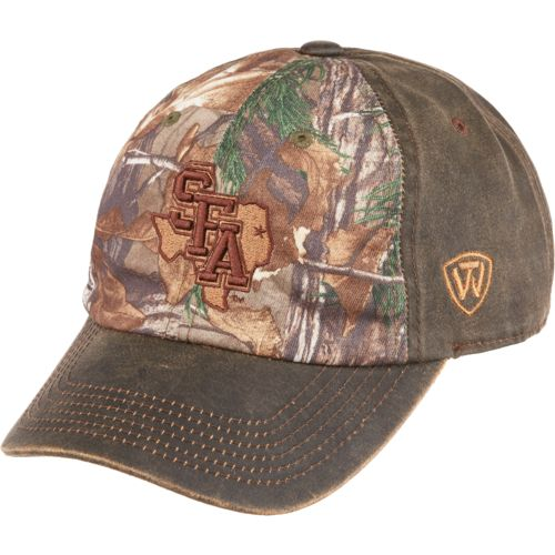 Top of the World Men's Stephen F. Austin State University Driftwood Cap