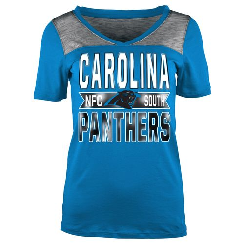 5th & Ocean Clothing Juniors' Carolina Panthers Foil