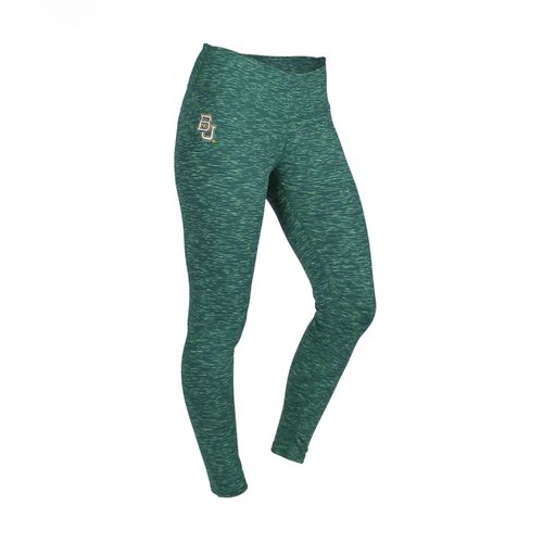ZooZatz Women's Baylor University Space Dye Legging