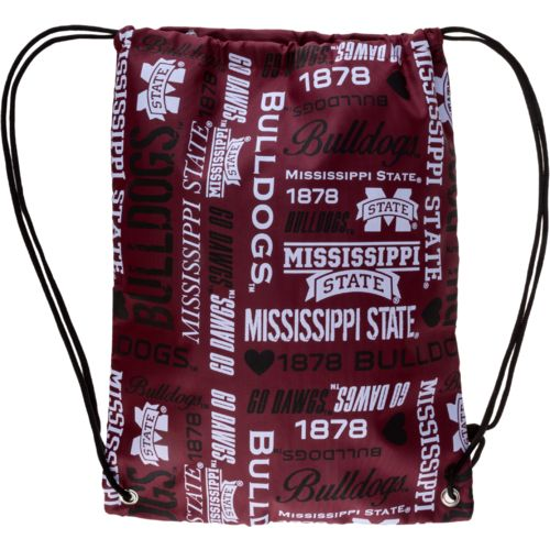 Forever Collectibles™ Women's Mississippi State University Drawstring Backpack