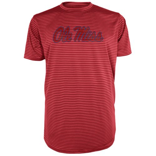 Majestic Men's University of Mississippi Section 101 Between the Lines T-shirt