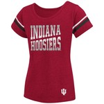 Colosseum Athletics™ Girls' Indiana University Fading Dot T-shirt - view number 1