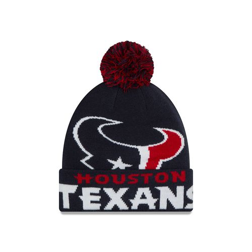 New Era Men's Houston Texans Colossal Knit Cap