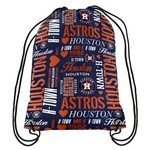 Forever Collectibles™ Women's Houston Astros Collage Drawstring Backpack