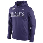 Nike™ Men's Kansas State University Circuit Pullover Hoodie