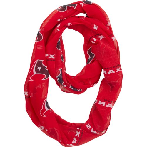 Forever Collectibles™ Women's Houston Texans Team Logo Infinity Scarf - view number 1
