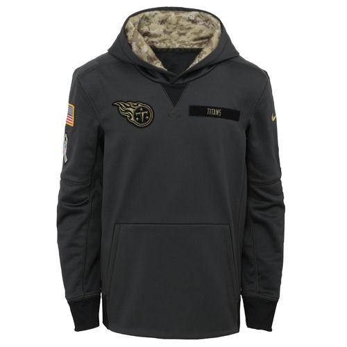 Nike™ Boys' Tennessee Titans Salute to Service Hoodie - view number 1