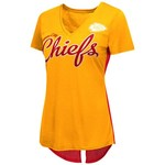 G-III for Her Women's Kansas City Chiefs Cutback T-shirt