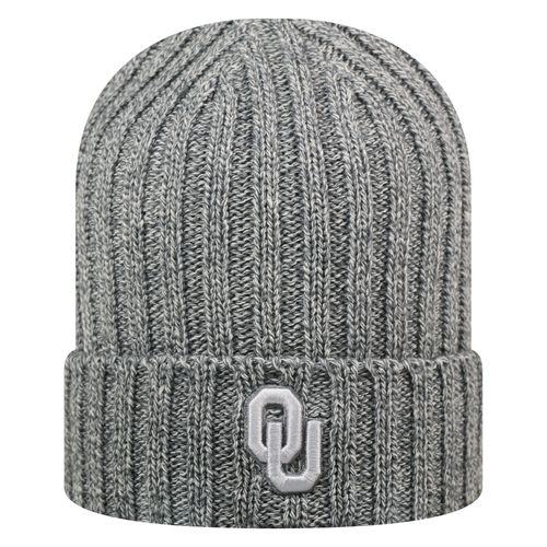 Top of the World Men's University of Oklahoma Two Below Cuffed Knit Cap