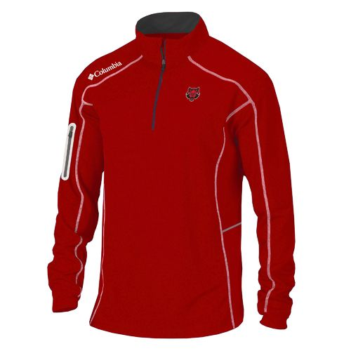 Columbia Sportswear™ Men's Arkansas State University Shotgun 1/4 Zip Pullover - view number 1