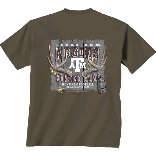 New World Graphics Men's Texas A&M University Hunting Camp T-shirt