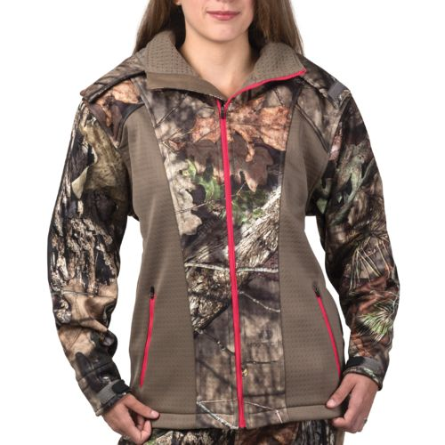 10X® Women's Lockdown Camo Softshell Jacket