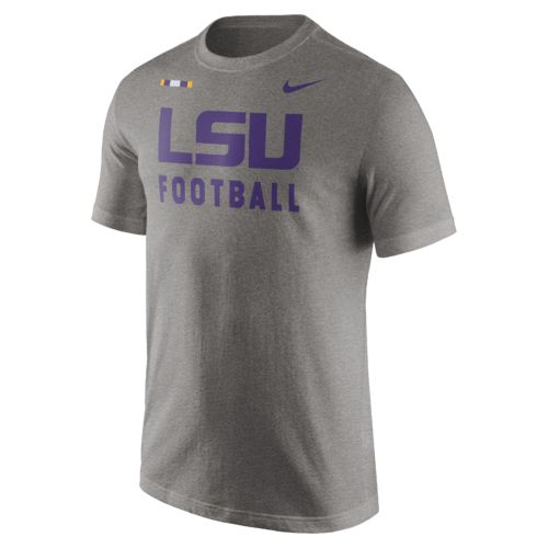 Nike Men's Louisiana State University Facility T-shirt - view number 1