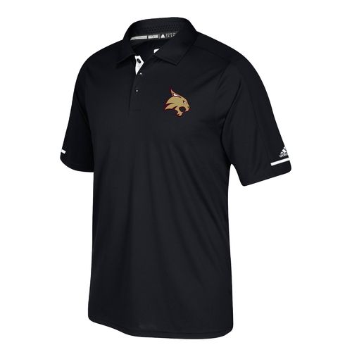 adidas Men's Texas State University climachill Polo Shirt