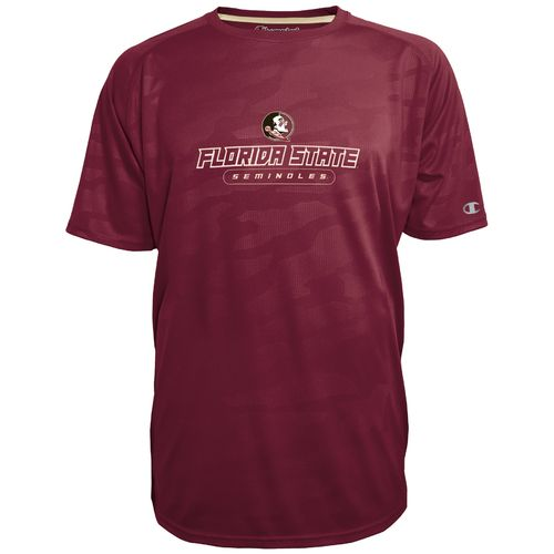 Champion™ Men's Florida State University Impact Embossed T-shirt - view number 1