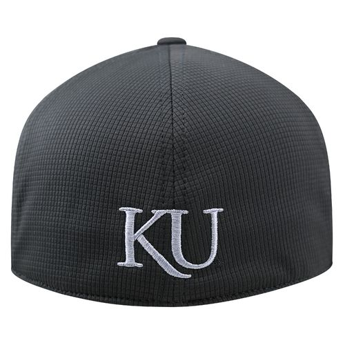 Top of the World Men's University of Kansas Booster Plus Tonal Cap - view number 2
