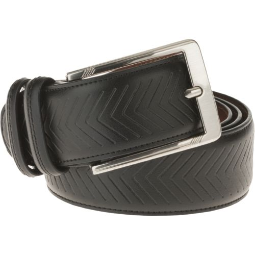 Magellan Outdoors Men's Chevron Leather Belt