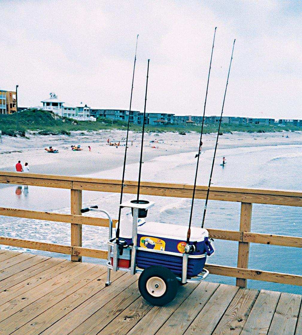 Angler 39 s fish n mate jr fishing cart academy for Fish n mate
