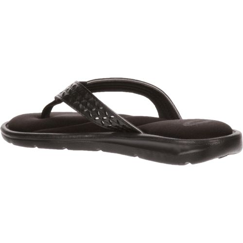 O'Rageous Women's Laser-Cut Memory Thong Sandals - view number 3
