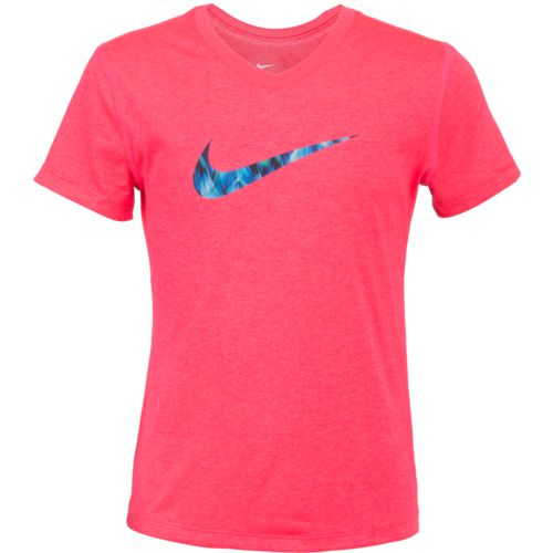 Display product reviews for Nike Girls' Swoosh Fill T-shirt