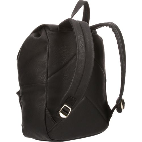 Emma & Chloe Girls' Leatherette Backpack - view number 3