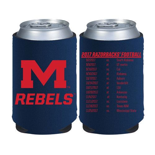 Kolder Kaddy University of Mississippi 2017 Football Schedule 12 oz Can Insulator