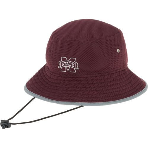 New Era Men's Mississippi State University Training Bucket Hat - view number 3