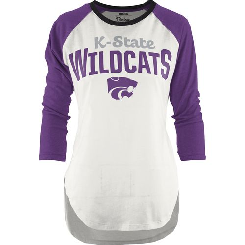 Three Squared Juniors' Kansas State University Quin T-shirt