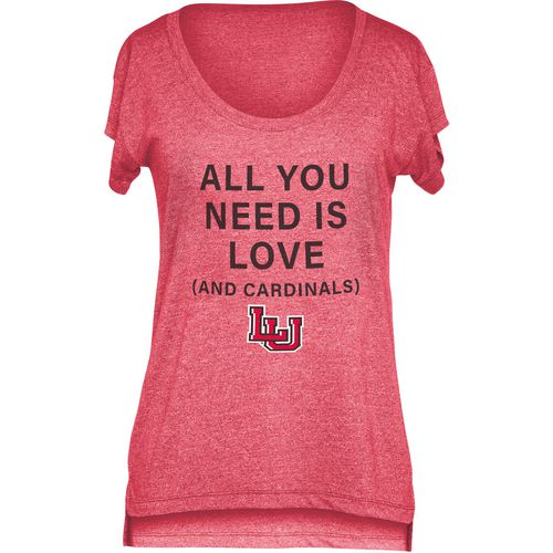 Chicka-d Women's Lamar University Scoop-Neck T-shirt - view number 1