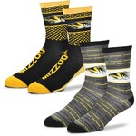For Bare Feet Men's University of Missouri Father's Day Socks - view number 1