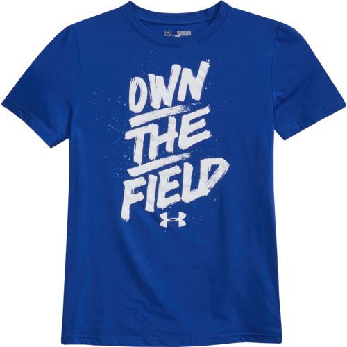 Under Armour Boys' Own the Field Short Sleeve T-shirt - view number 4