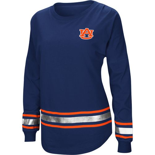 Colosseum Athletics Women's Auburn University Humperdinck Oversize Long Sleeve T-shirt