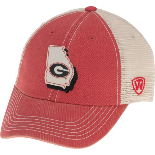 Top of the World Men's University of Georgia United 2-Tone Adjustable Cap - view number 2