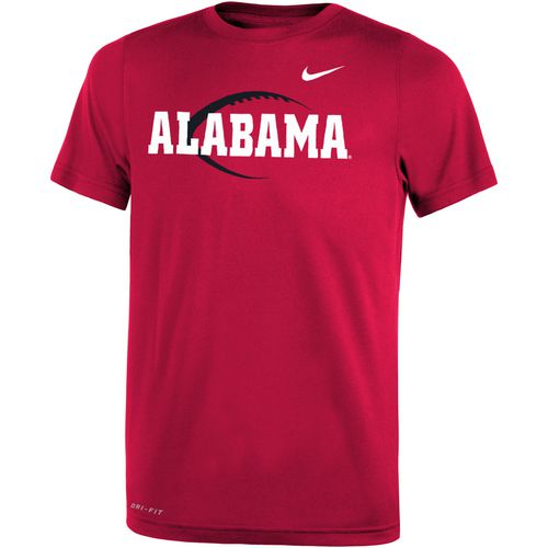 Nike™ Boys' University of Alabama Legend Icon T-shirt