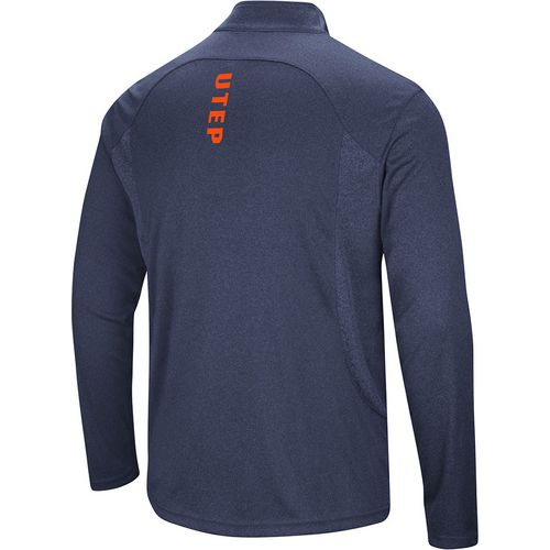 Colosseum Athletics Men's University of Texas at El Paso Audible 1/4 Zip Windshirt - view number 2