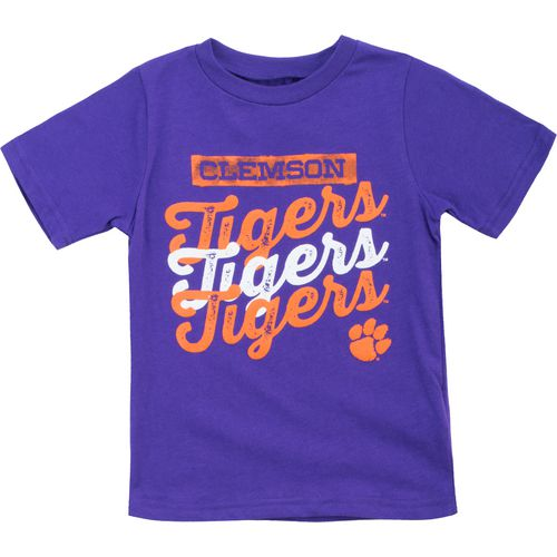 Gen2 Toddlers' Clemson University Watermarked T-shirt