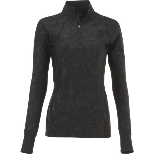 BCG Women's Cold Weather 1/4 Zip Training Shirt