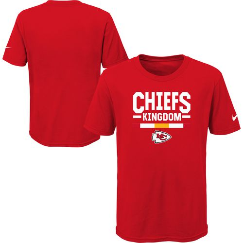 Nike Boys' Kansas City Chiefs Verbiage T-shirt