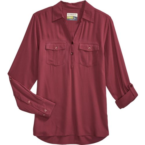 Magellan Outdoors Women's Adventure Gear Long Sleeve Henley Shirt - view number 4
